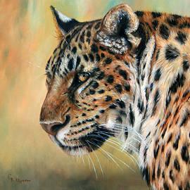 Leopard by Svetlana Ledneva-Schukina