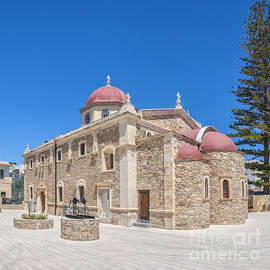 Antony McAulay - Lerapetra church of Saint George Panorama