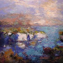 R W Goetting - Les Calanques in bright light III