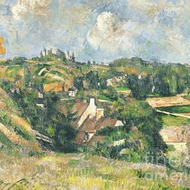 Les Coteaux du Chou, Pontoise, 1882 - Paul Cezanne