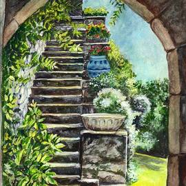 Carol Wisniewski - Les Escaliers en Bandouille in Sevres France
