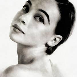 John Springfield - Leslie Caron, Vintage Actress