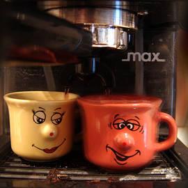 Let's Have A Coffee by Alessandro Della Pietra