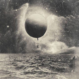 Letting Go. Surreal Vintage Collage by Dylan Murphy