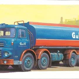 Leyland Octopus Gulf Oil. - Mike Jeffries