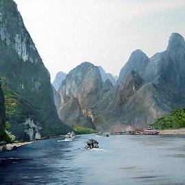 Li River China by Marie Dunkley
