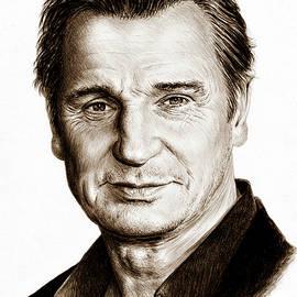 Andrew Read - Liam Neeson Sepia