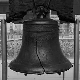 Liberty Bell Bw by Chris Flees
