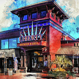 Liberty Brewery And Grill Myrtle Beach by David Smith