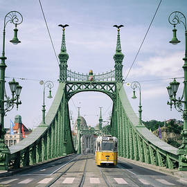 Liberty Bridge - Budapest by Russ Dixon