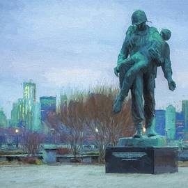 Liberty Park Holocaust Memorial by JC Findley