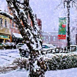 Steve Karol - Liberty Square in Winter