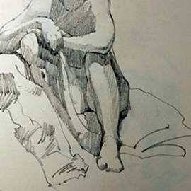 Life Drawing No. 032 by Betty Jean Billups