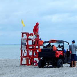 Lifeguard - Changing Shifts  by Arlane Crump