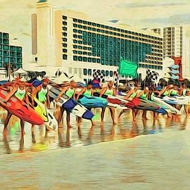 Lifeguard Lineup by Alice Gipson