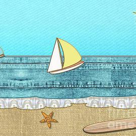 Life's a Beach by Barefoot Bodeez Art