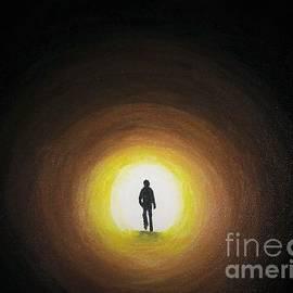 Light at end of tunnel by Olga Zavgorodnya