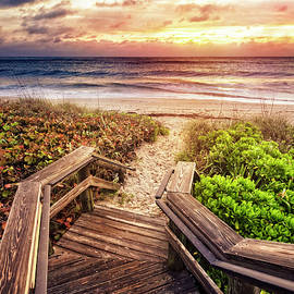 Light on the Boardwalk by Debra and Dave Vanderlaan