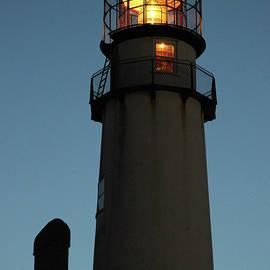 Lighthouse Aglow by Robert Banach