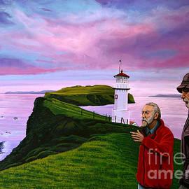 Paul Meijering - Lighthouse at Mykines Faroe Islands