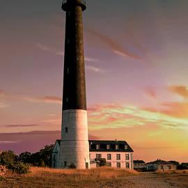 Jaroslaw Blaminsky - Lighthouse at the sunset