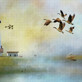 Lighthouse Bay by Theresa Campbell