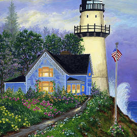 Lighthouse Cottage by Bonnie Cook