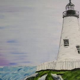 Lighthouse by Mary Capriole