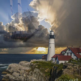 Lighthouse Memory II 2015 by Kathryn Strick