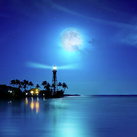 Mark Andrew Thomas - Lighthouse Moon