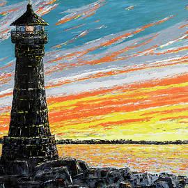 Ken Wood - Lighthouse Silhouette