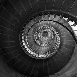 Lighthouse Spiral Staircase by Gigi Ebert