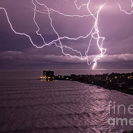 Lightning up the Night by Bob Hislop