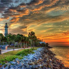 Reid Callaway - Lights Out Suns Up St Simons Island Lighthouse Sunrise Art