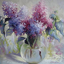 Lilac bouquet by Elena Oleniuc