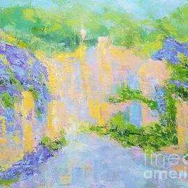 Lilac mood by Olga Malamud-Pavlovich