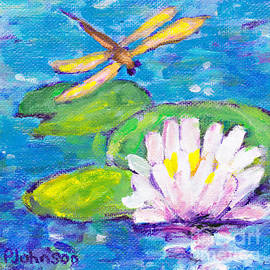 Lily Pad Guest by Peggy Johnson by Peggy Johnson