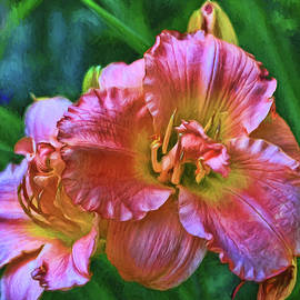 Allen Beatty - Lily - Photopainting