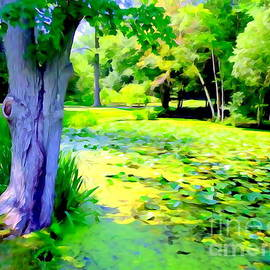 Lily Pond #5 by Ed Weidman