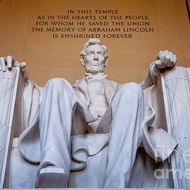 Lincoln Memorial II by Brian Jannsen