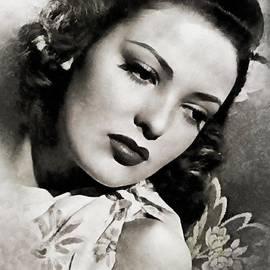 John Springfield - Linda Darnell, Vintage Actress