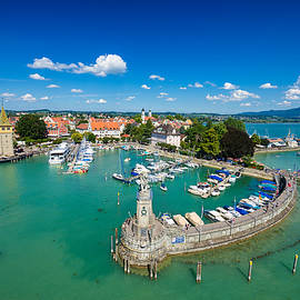 Lindau Bodensee Lake Constance Germany by Matthias Hauser