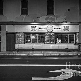 Lindy's Diner On Route 66 by Imagery by Charly