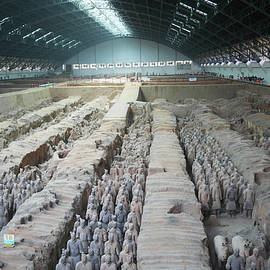 Derrick Neill - Lines of Terracotta Army Soldiers