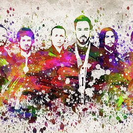 Linkin Park in Color - Aged Pixel