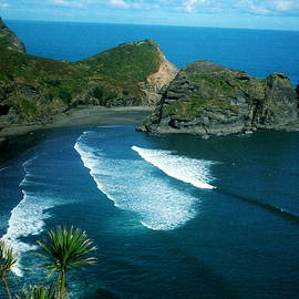 Lion Beach Piha New Zealand by Mark Dodd