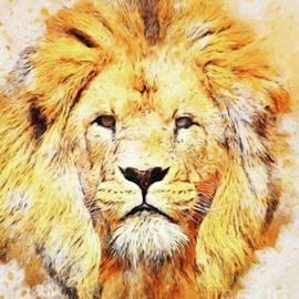 Sarah Kirk - Lion Majesty by Sarah Kirk