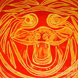 Jane Gatward - Lion Mask