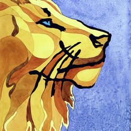 Lion Of Judah by Lorrisa Dussault