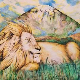 Basking Lion by Tomislav Neely-Turkalj